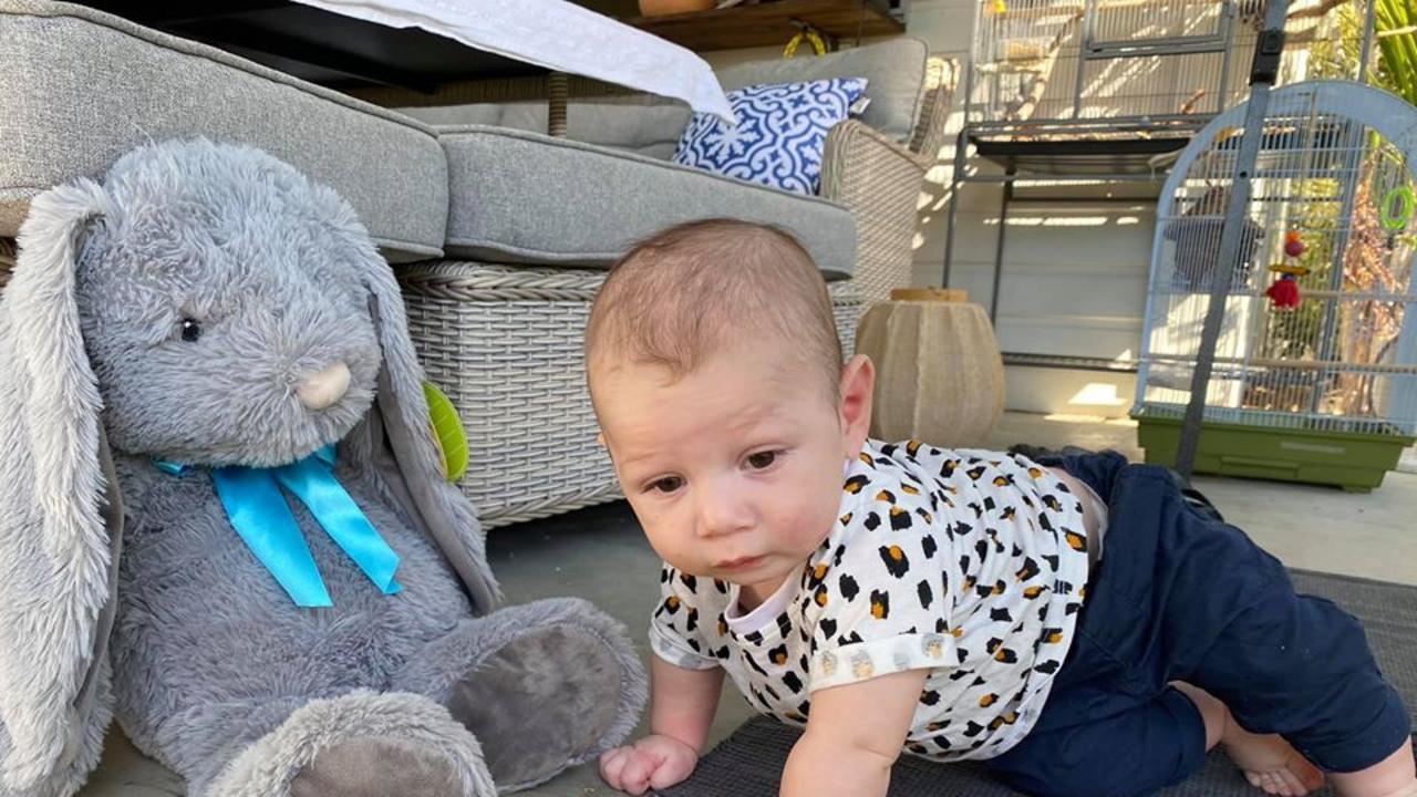 Six-month-old Beau Frank Bradshaw.