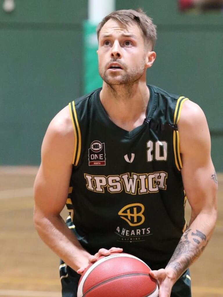 International basketballer Nathan Sobey played a leading role for Ipswich in the 2020 Queensland State League competition.