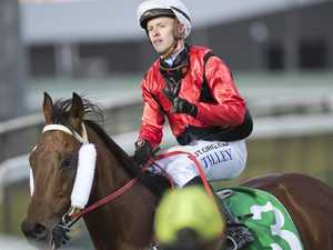 Jockey back on track in Rocky with five rides