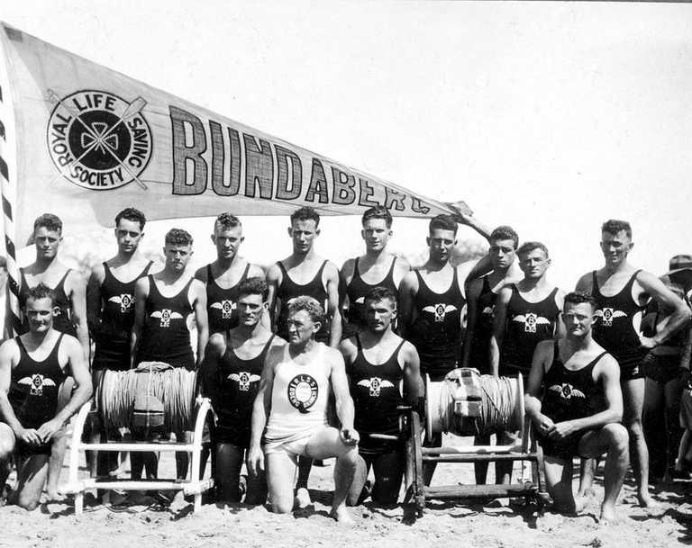 Bundaberg Surf Life Saving Club, c1931. Picture: Queensland State Archives