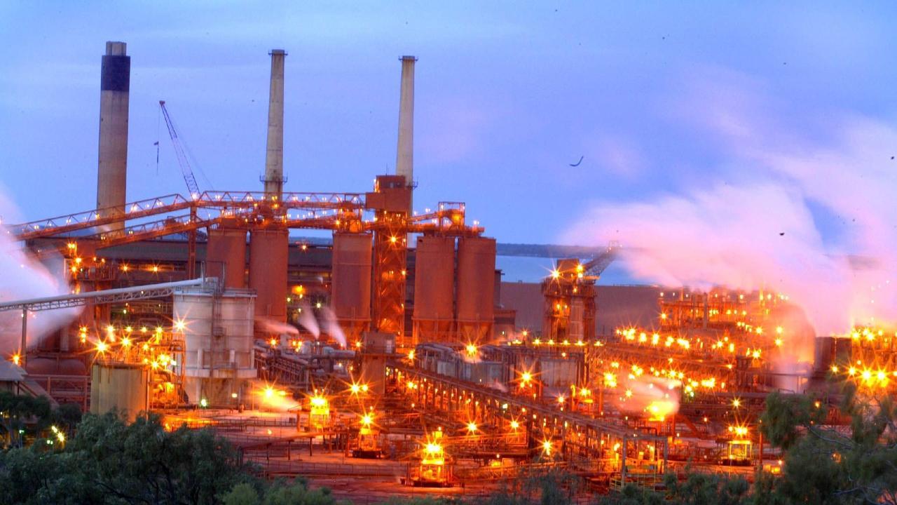 Gladstone's Alumina refinery. Picture: Vanessa Hunter