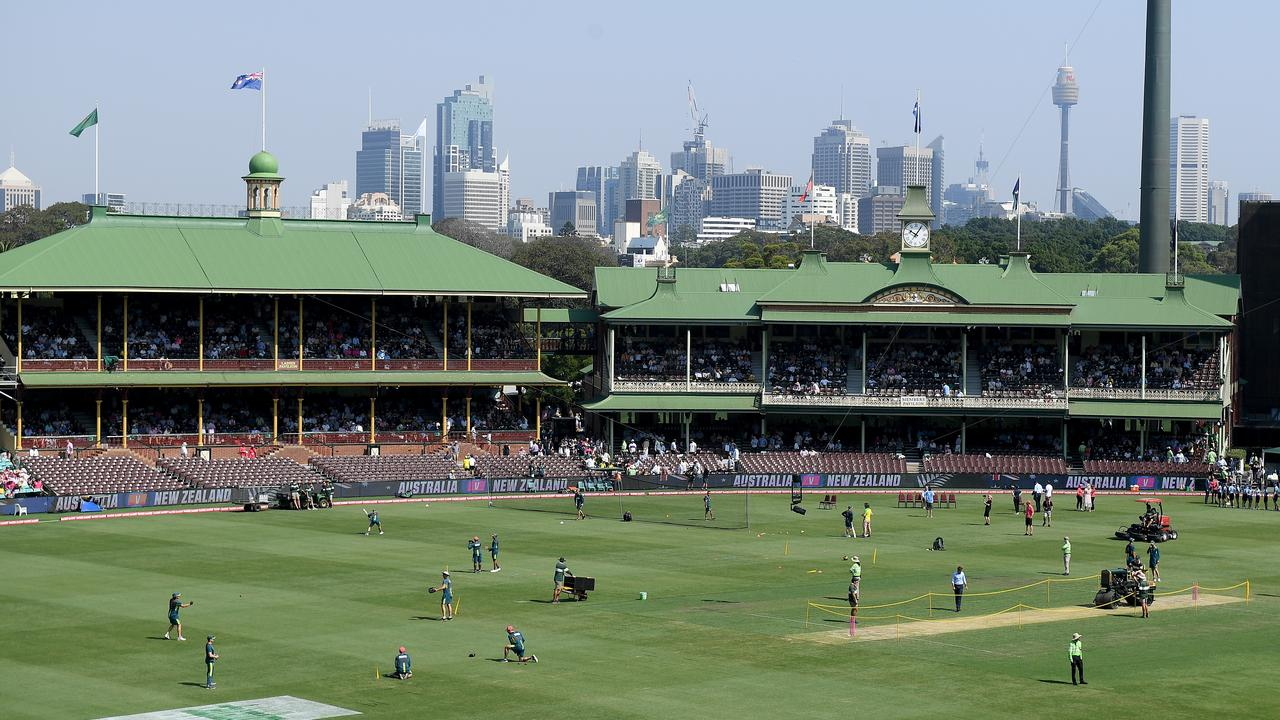The famous Sydney Cricket Ground looks set to hold onto the New Year's Test.