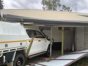 Driver crashes into CQ home on Christmas before fleeing