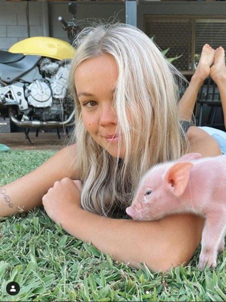 Vegan activist Lauren McGeachin.
