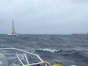 MAYDAY CALL: How crews helped distressed skipper