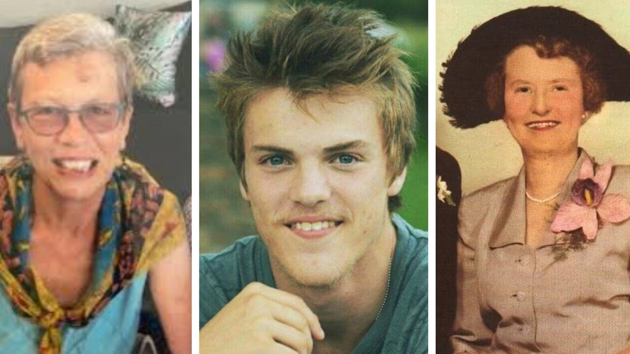 Elizabeth Foreman, Theo Hayez and Myrtle Irene Wilton are still missing after disappearing from the Northern Rivers.