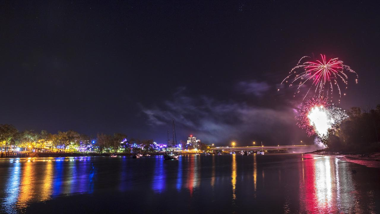 New Year's Eve fireworks in Rockhampton will be spectacular.