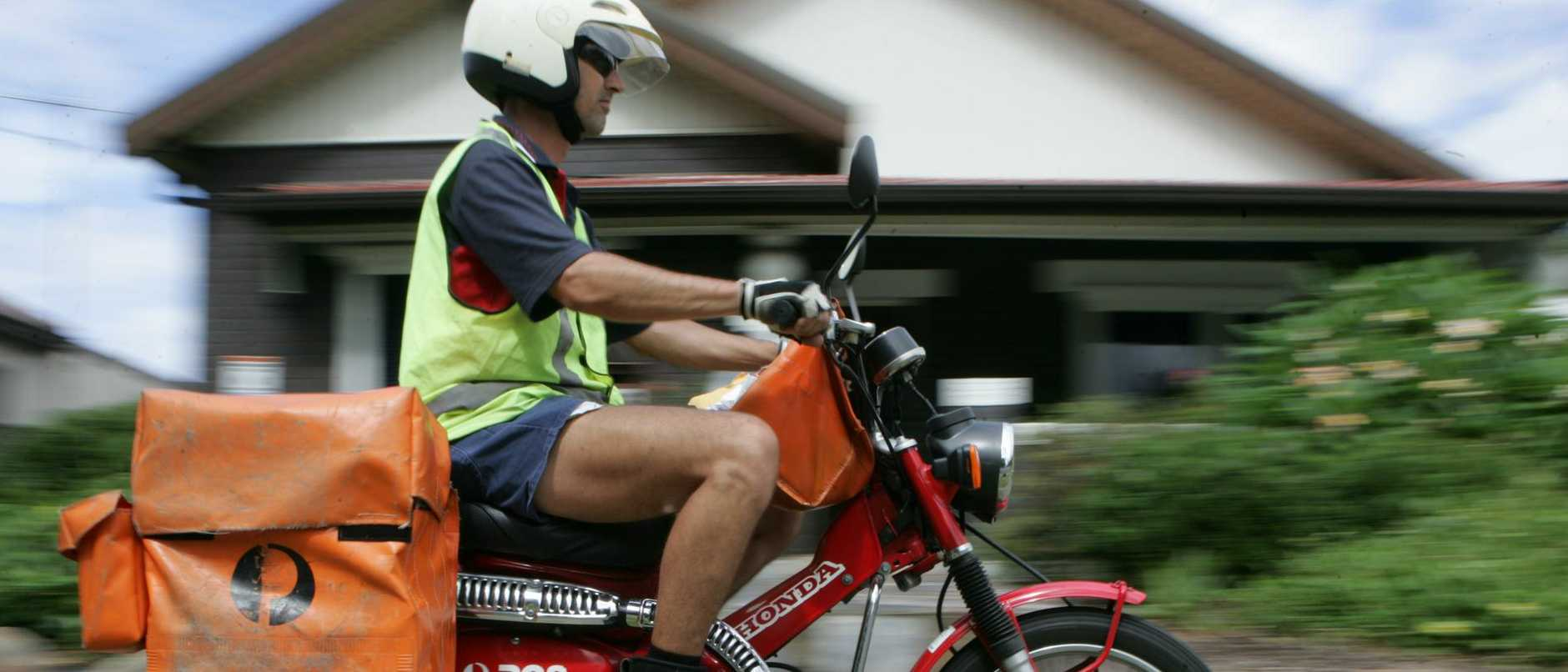 "A postie who had his foot ""degloved"" in a horrific crash which left him pinned under the wheels of a truck has launched a major lawsuit."