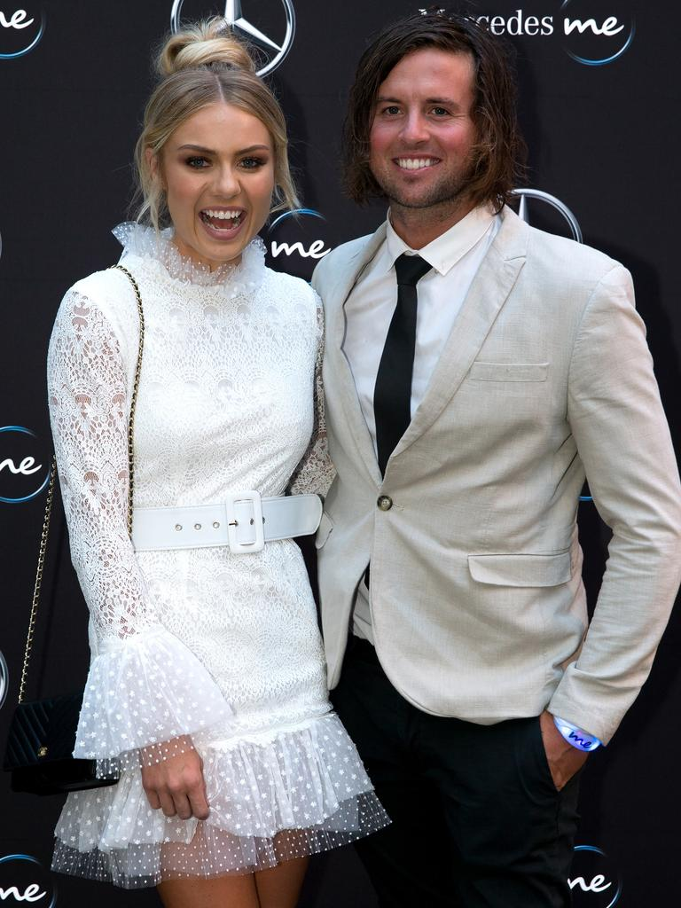 Elyse Knowles and Josh Barker. Picture: Supplied