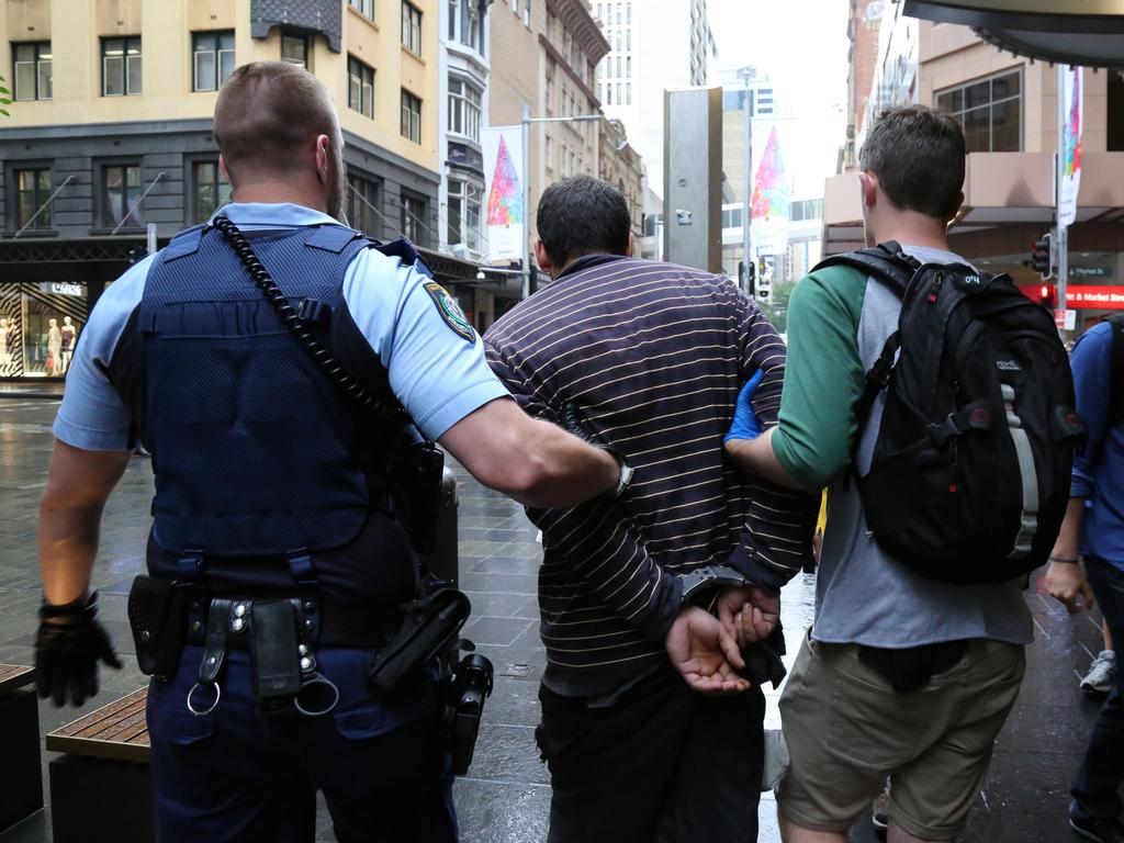 Police have arrested dozens of people in the past few months and charged them with shop stealing. Picture: Supplied.