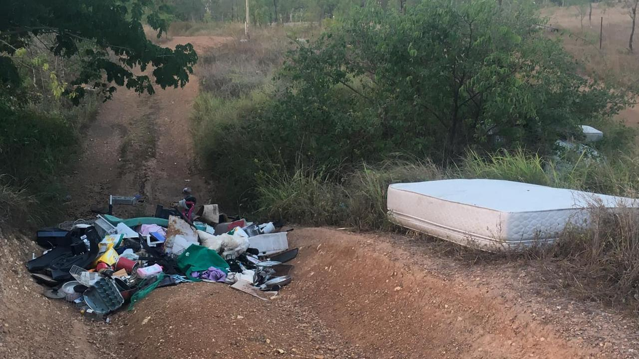 DUMPING PROBLEM: Members of the CQ CQ 4x4 Adventures group are finding an increased amount of rubbish being illegally dumped in Parkhurst.