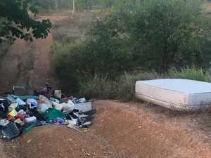 Residents intervene after 'grubs' dump rubbish