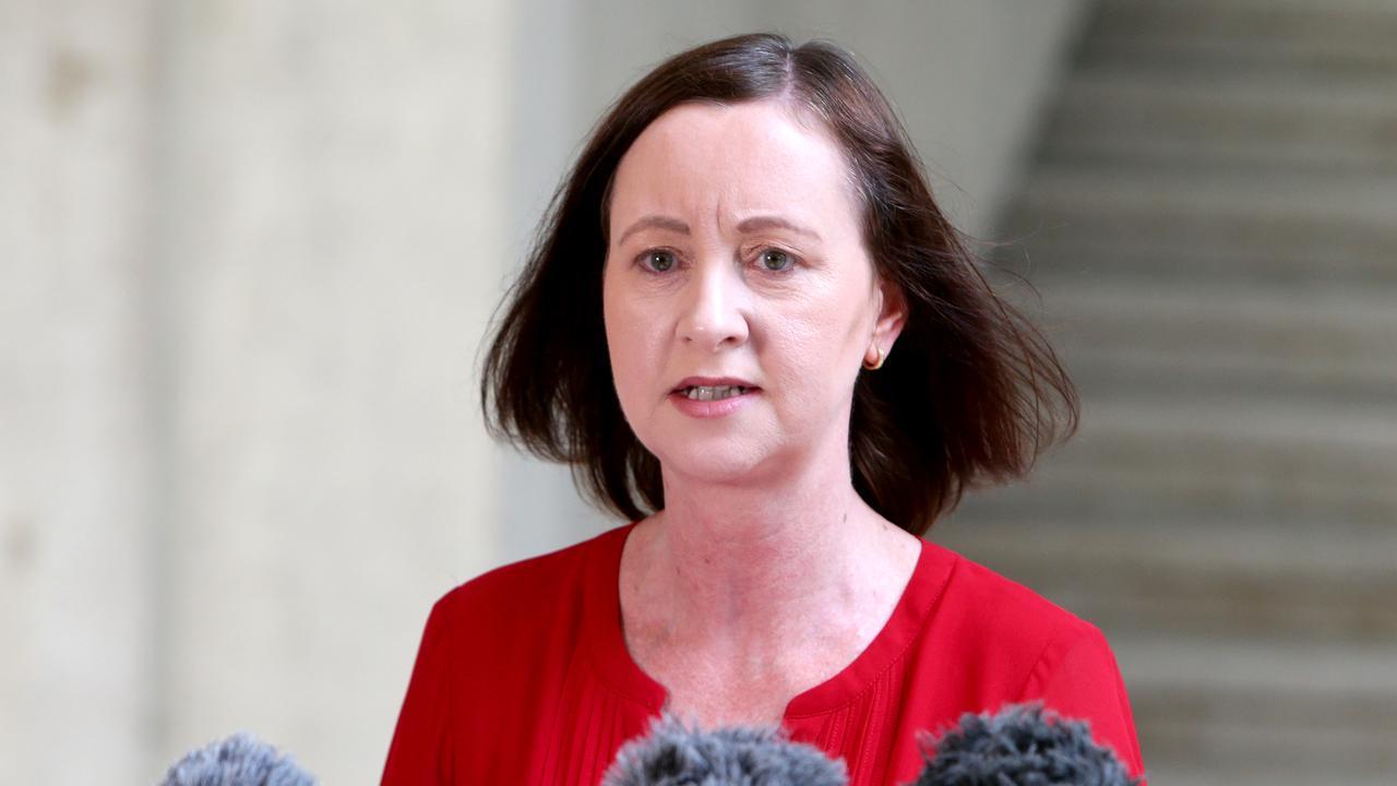 Queensland Health Minister Yvette D'Ath. Picture: Steve Pohlner