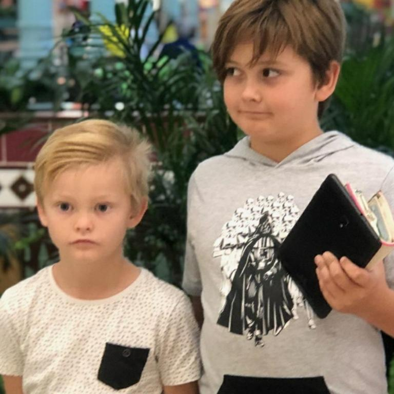 Ryley, 8, and Ayden, 11, have been credited with saving their twin siblings who were unresponsive after being found floating upside down in family pool