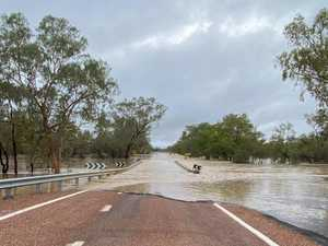 64 roads closed as rain batters Qld