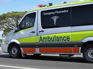 Paramedics rush to crash after car collides with tree