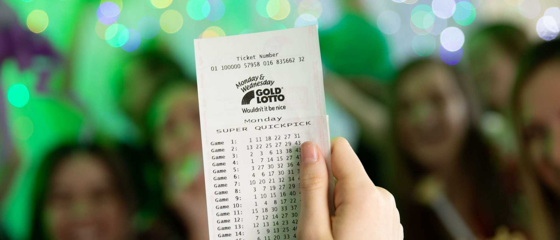 A Cairns mum will start 2021 as the city's newest millionaire after scoring division one in last night's Gold Lotto draw.