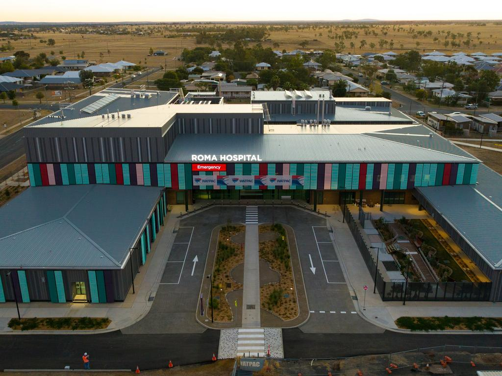 The new Roma Hospital precinct. Picture: Contributed