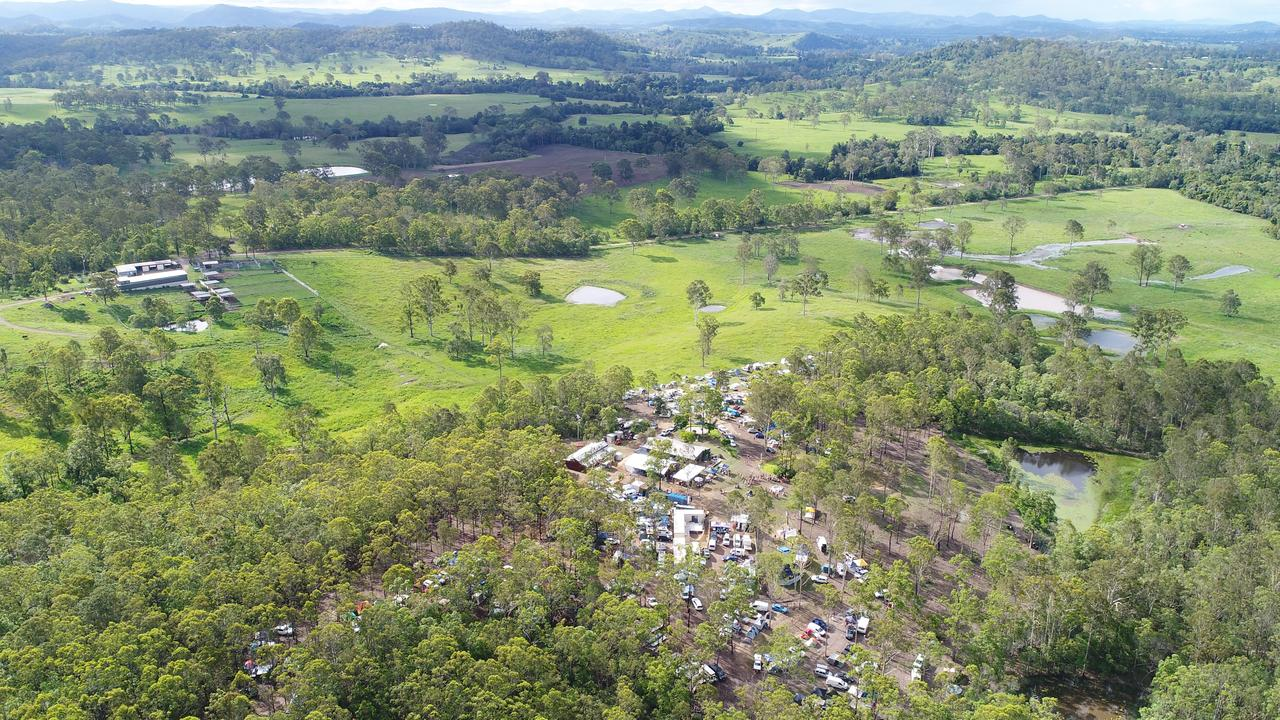 Thrive NYE Experience at the Sunshine Coast hinterland is described as a mix between Peregian Originals and an epic festival. Picture: Patrick Woods.