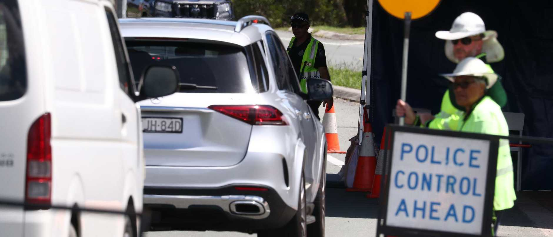 Police on Queensland's border checkpoints are on high alert for a wave of Sydneysiders as the number of COVID cases in the southern capital continues to grow.