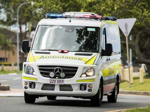 Car and cyclist collide in Maryborough