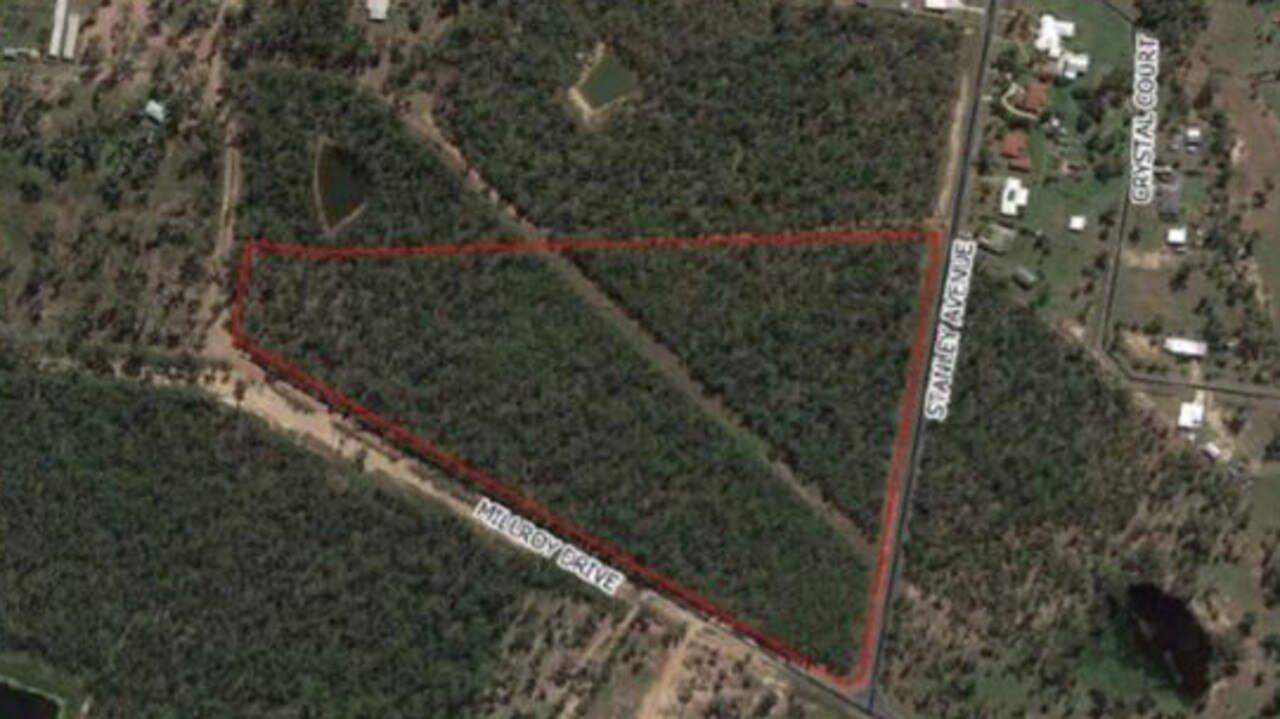 The land at Stanley Ave/Millroy Dr earmarked as a potential new home for the Yeppoon showgrounds. Source: Ecosure report.