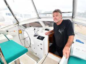 'It's a mess': Boatie salvages stranded yacht
