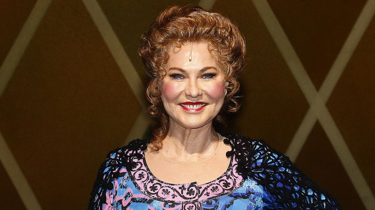 Kerri-Anne Kennerley as she appears in the Pippin the musical as Berthe. Picture: John Appleyard