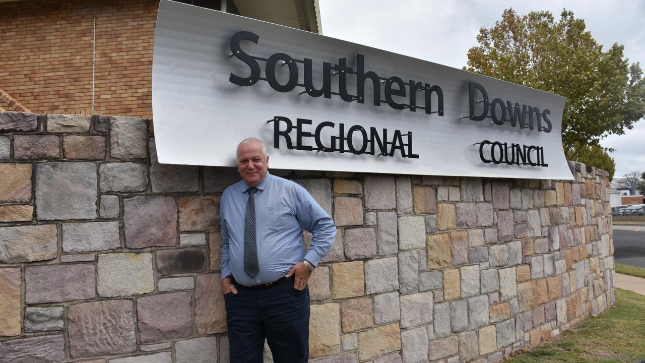 TOP 10: Southern Downs Mayor Vic Pennisi was at the centre of many of the council's biggest 2020 moments.