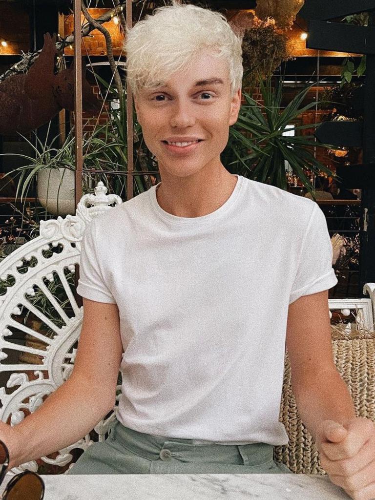 Australian singer Jack Vidgen. Picture: Instagram