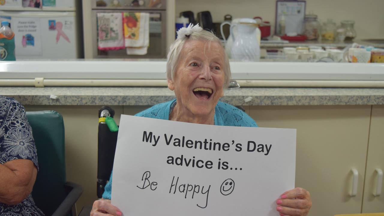 Ida Bennett's Valentine's Day advice was to