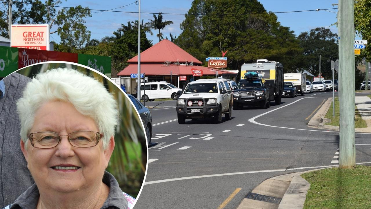 Former Tiaro mayor Linda Harris says the community will see plans for Tiaro's survival in a post-bypass world in the new year.