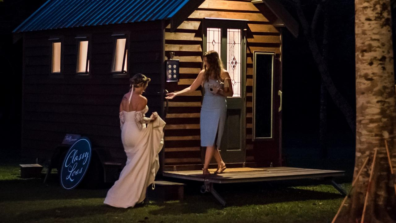 Classy Loos provide brides and their guests with a toilet they don't avoid using. Picture: Supplied.
