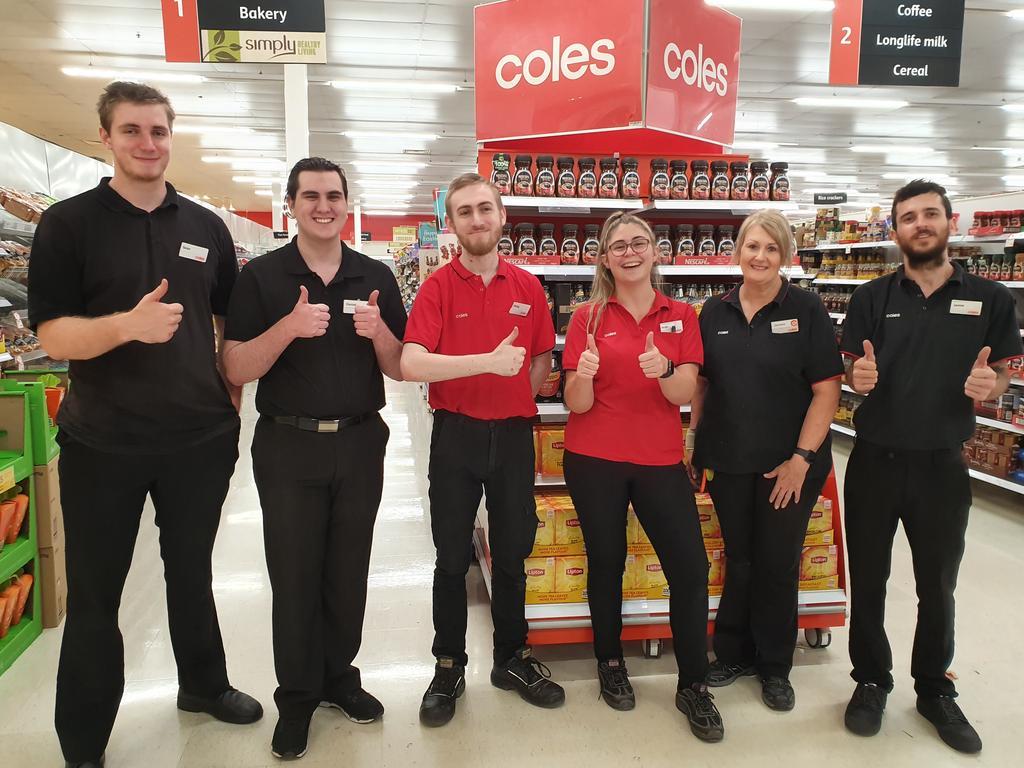 Coles team members (left to right) Sean Heugh, Daniel Minter, Philip Kean, Sarah Hopgood, Christine Coll and Jamie Allen.