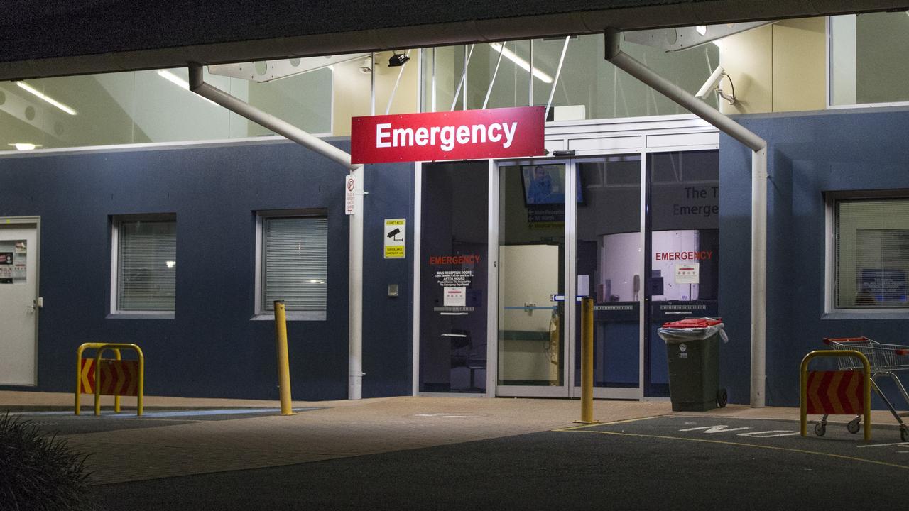 The Tweed Hospital Emergency department.