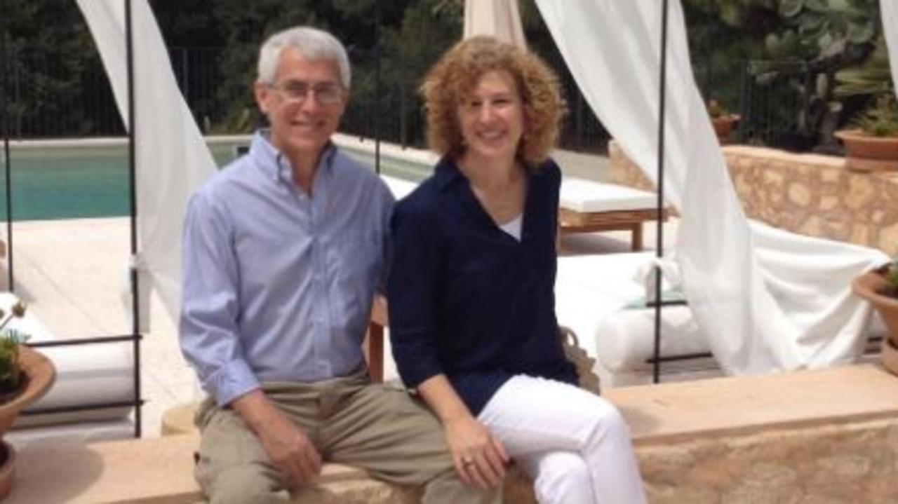 Hilaria Baldwin's parents, David Thomas and Dr Kathryn Hayward. Picture: Facebook