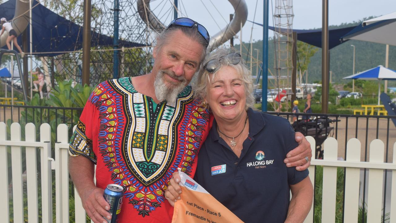 Hans Richter and Jacqui Webb tied the knot on board the Ha Long Bay, Viet Nam yacht, making them the first couple to ever get married on one of the boats.