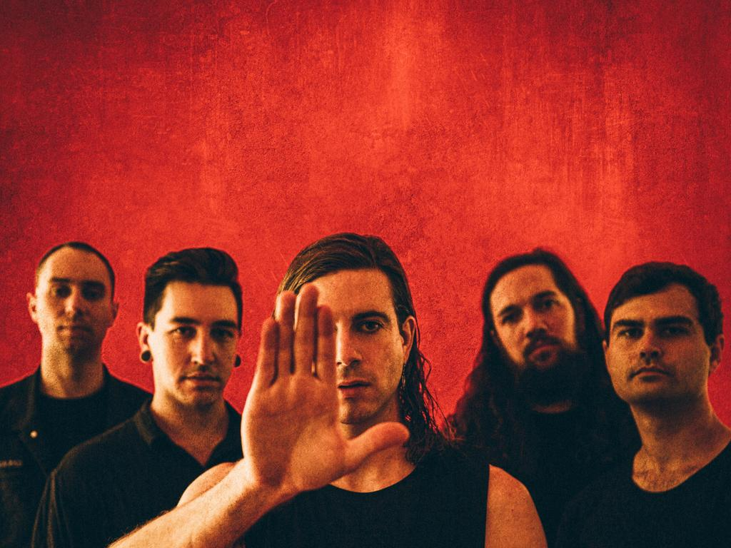 Australian metal band In Hearts Wake are set to make a new EP. Picture: Supplied.