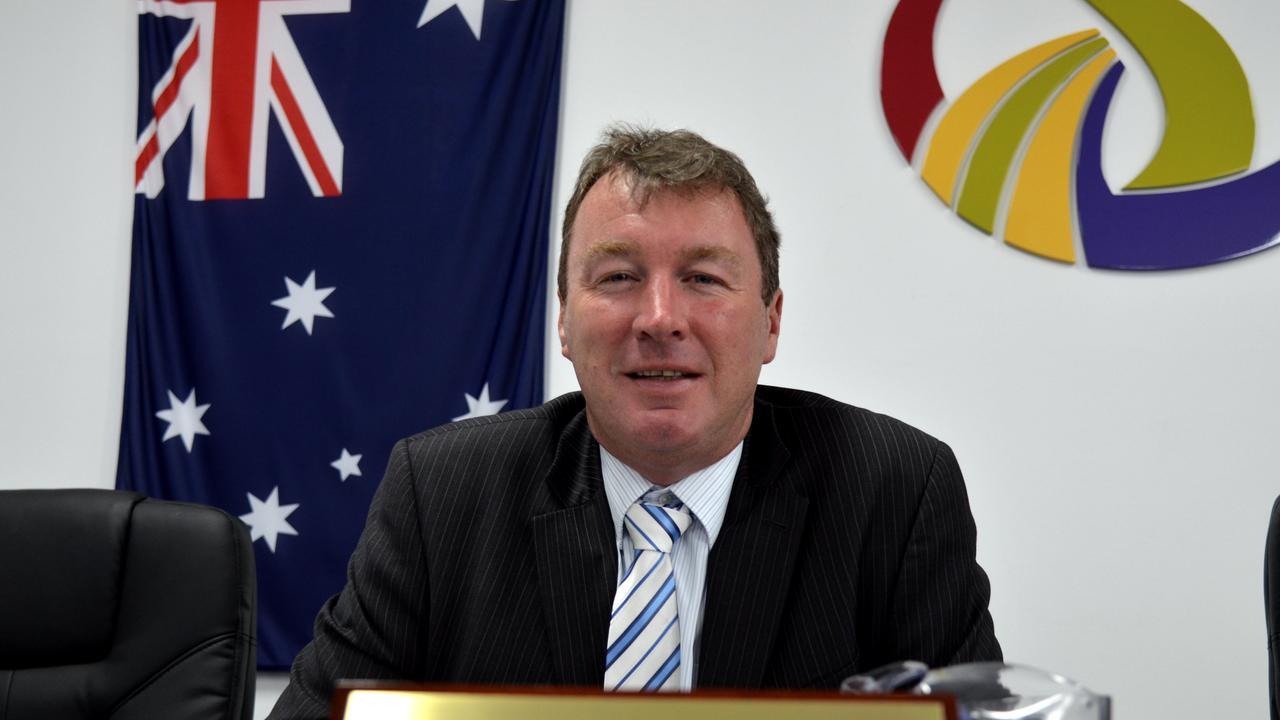 Former SDRC chief executive David Keenan.