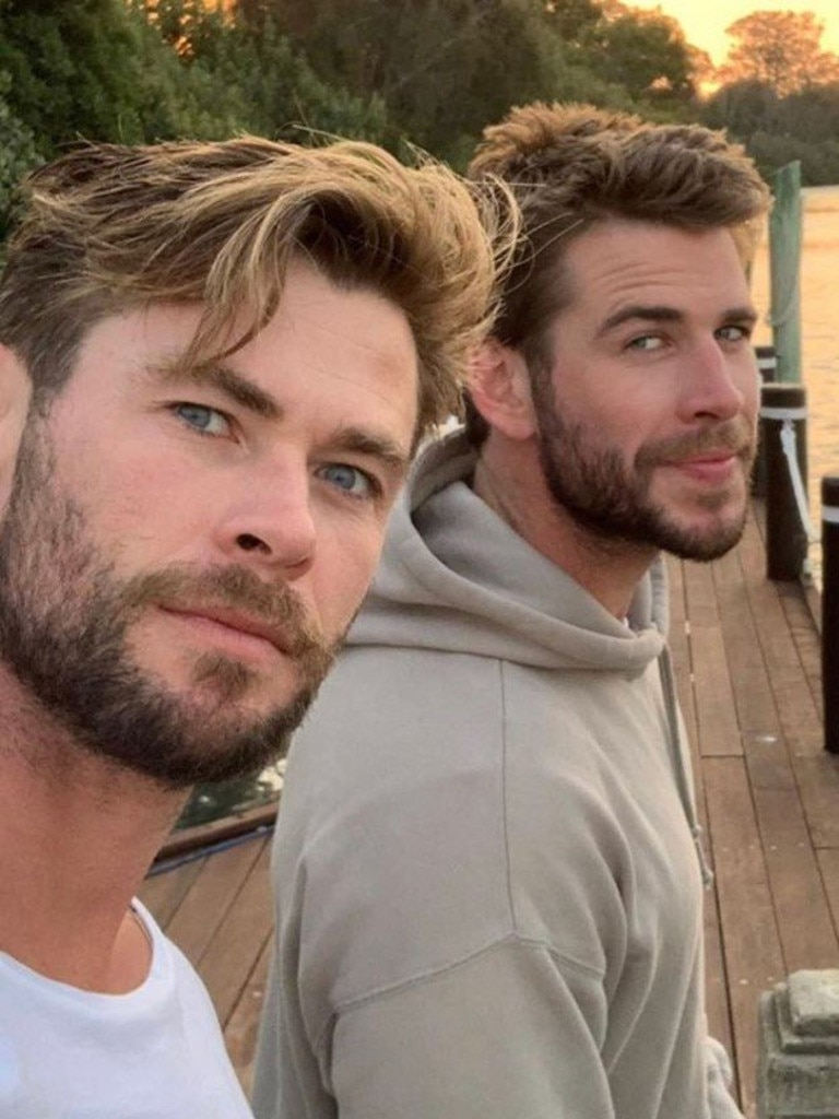 Chris and Liam Hemsworth.