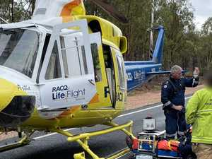 Man flown to hospital after Mundubbera rollover
