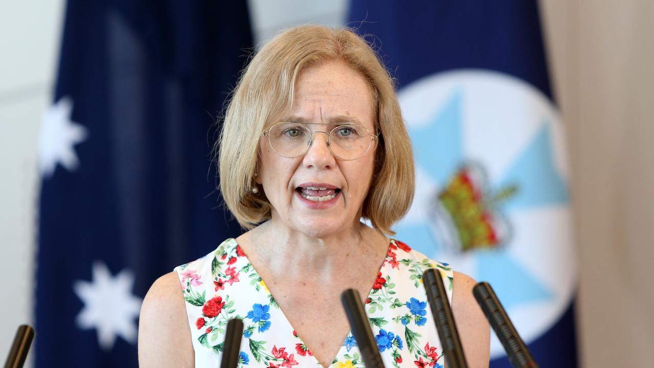 Queensland Chief Health Officer Dr Jeannette Young. Picture: Steve Pohlner
