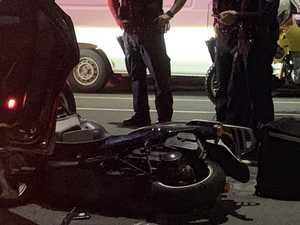 Domino's driver injured in North Mackay crash