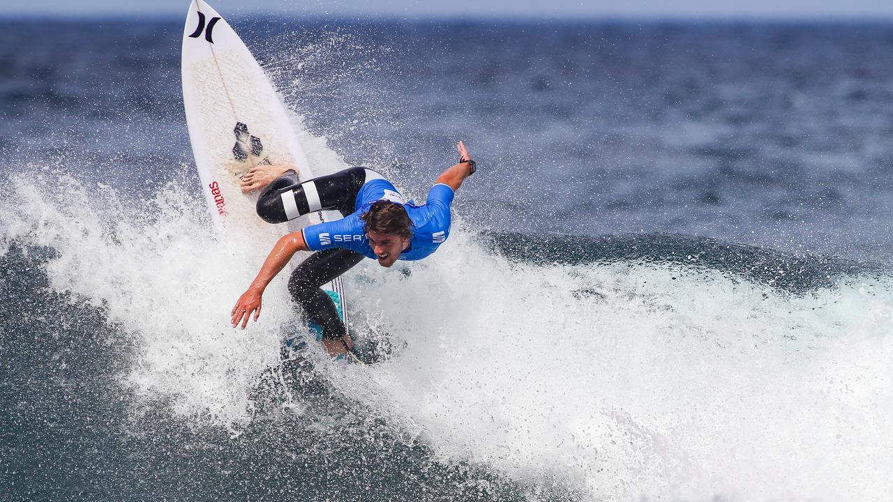 Reef Heazlewood at the Azores Airlines Pro in September 2019 Picture: WSL / Masurel
