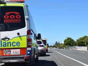 Vehicle crashes into North Ipswich property