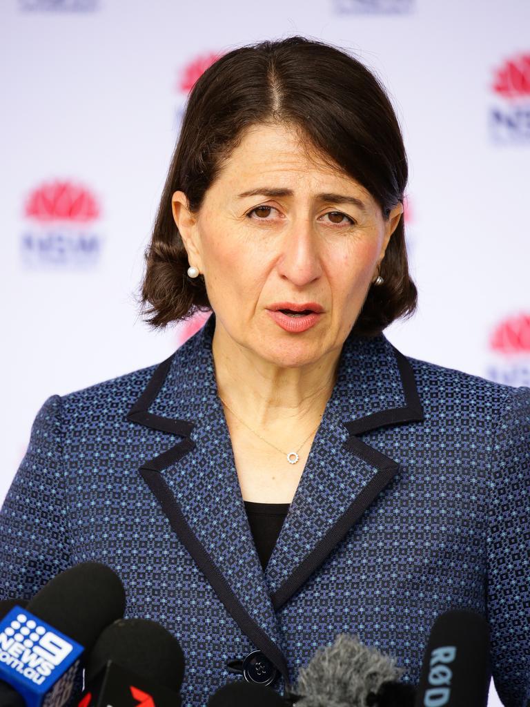 NSW Premier Gladys Berejiklian. Picture: NCA NewsWire / Gaye Gerard