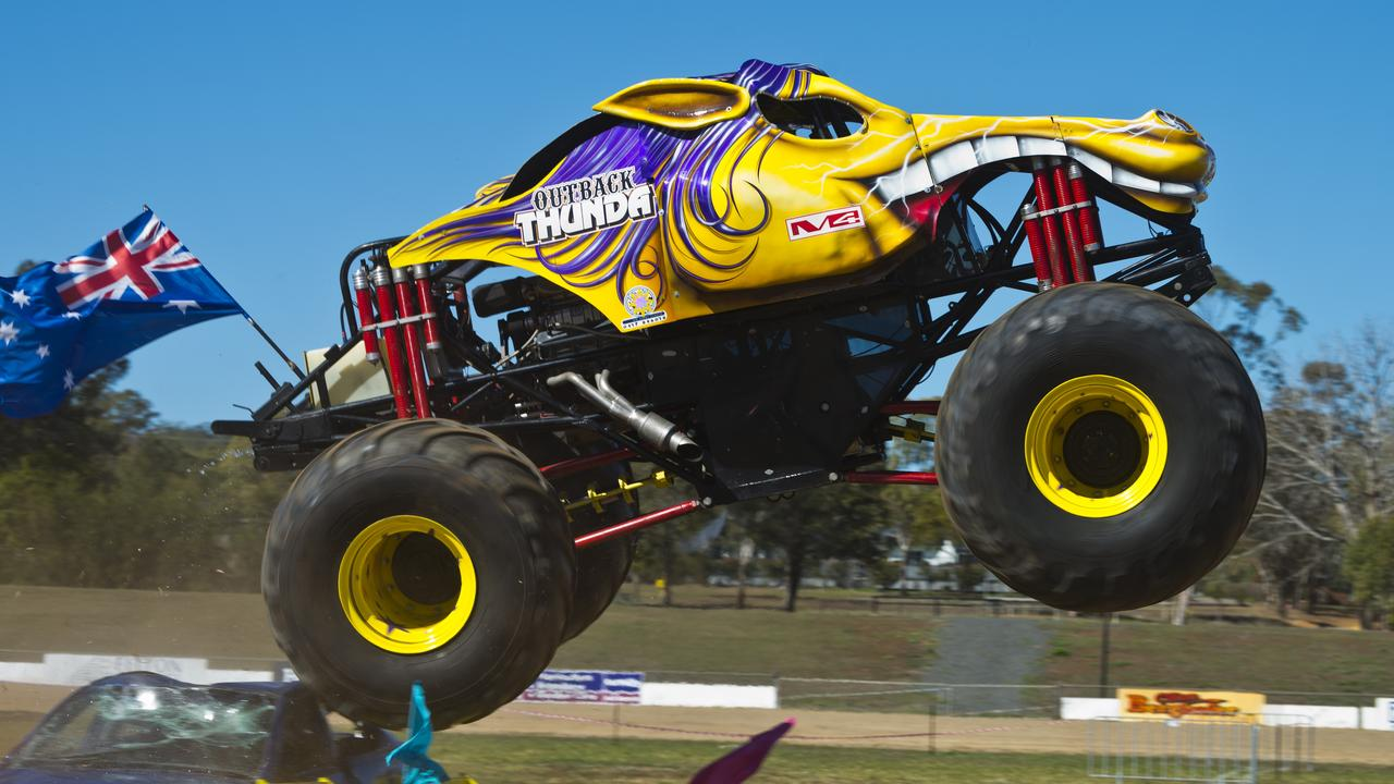 RAINCHECK: Lismore Speedway have rainchecked their Monster Truck Show scheduled for New Year's Day until later in 2021. Picture: Kevin Farmer