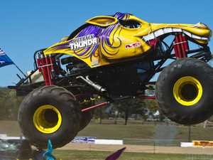 Rain puts the brakes on tonight's monster truck show