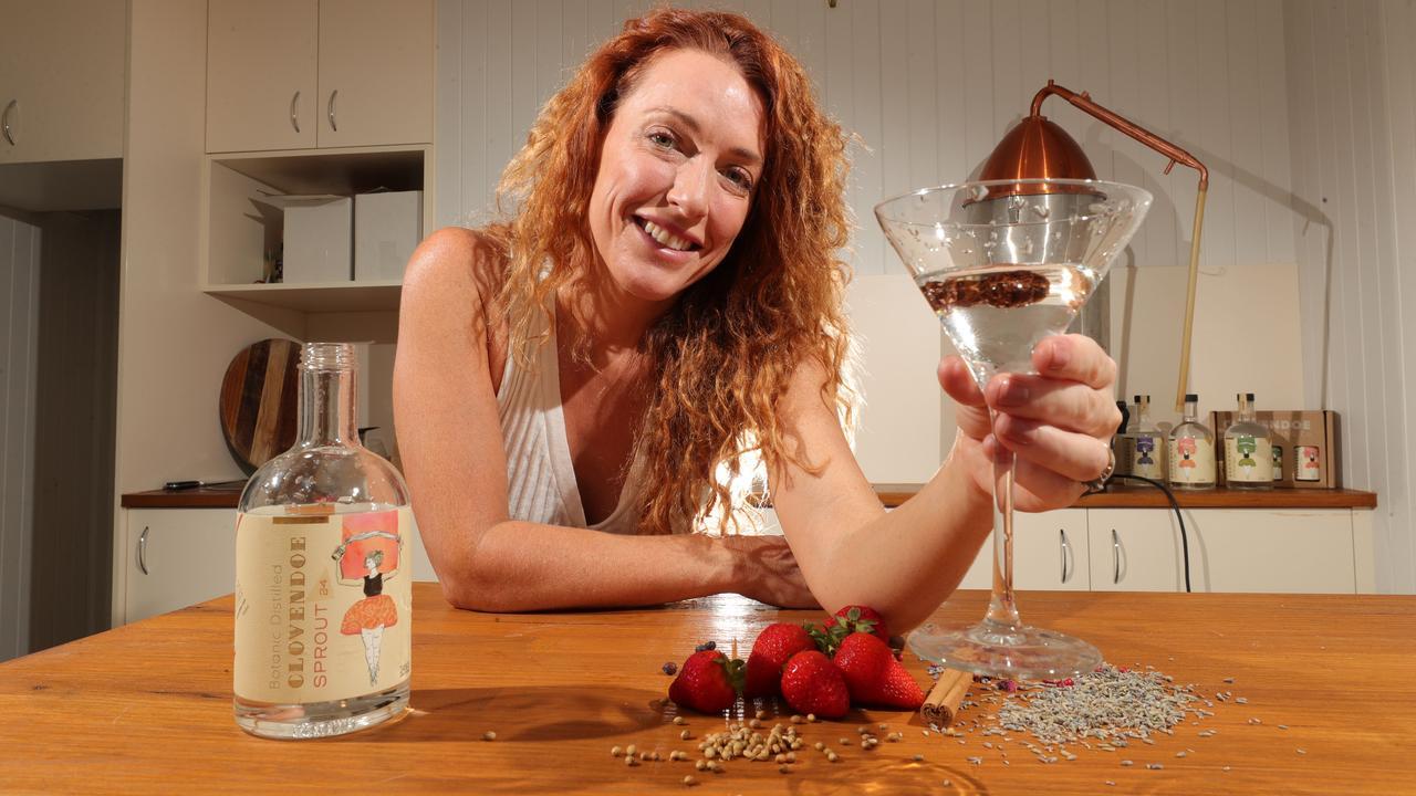 Clovendoe Distilling Co. co-owner Catie Fry. Picture: Glenn Hampson.