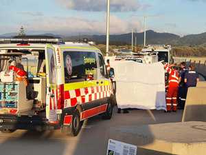 SES rescues woman trapped after falling at jetty